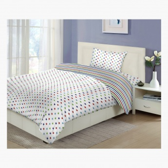 Aaron 2-Piece Single Comforter Set - 135x220 cms