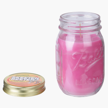 Citronella Mason Jar Candle - 12 oz