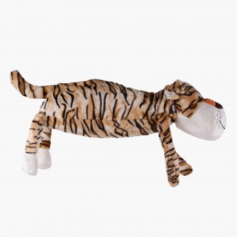 Evie Tiger Lying Shaped Cushion - 68x25x14 cms