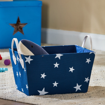 Stefie's Tapered Basket with Handles