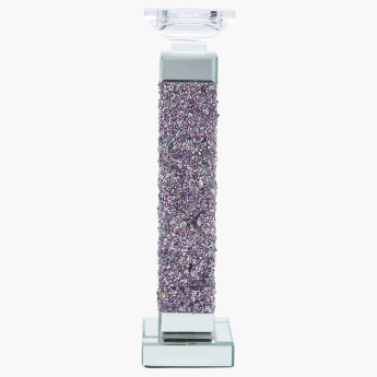 Cosmo Jewelled Pillar Candle Holder - Large