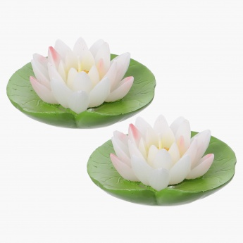 Tinted Lotus Candle - Set of 2