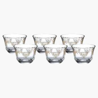 Trio Qahwa Tea Cup - Set of 6