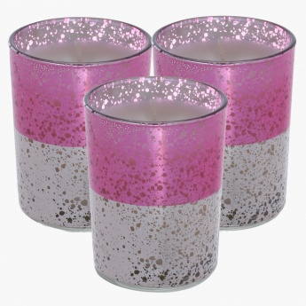Roseate Roseline Jar Candle - Set of 3