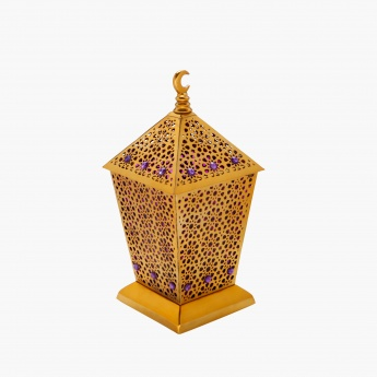 Crescent Conical Lantern - 14x14x20.5 cms