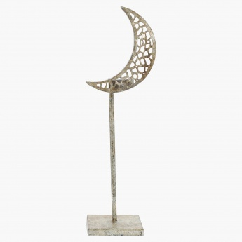 Crescent Tealight Holder - 13x43 cms