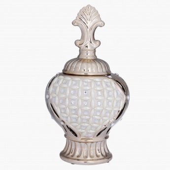 Clara Decorative Urn - 17.5x17.5x32 cms