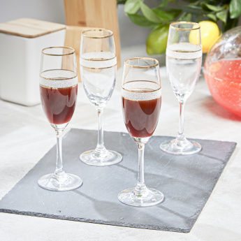 Dagmar Flute Glass - Set of 4