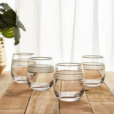 Dagmar Double Old Fashioned Glass - Set of 4