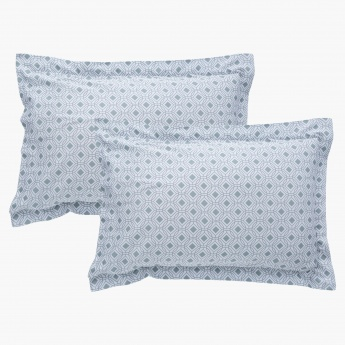 Jewel Mist Oxford 2-Piece Pillow Cover - 50x75 cms