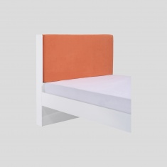 KidIt Orange Headboard Cover