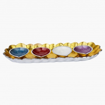 Astha Tealight Diya - Set of 4
