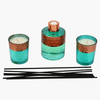 Sanguine Skies Votive and Reed Diffuser Gift Set