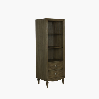 Lexington 2-Drawer Cabinet with Shelves