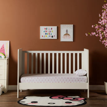 Little Darling Convertible Cot Bed - 70x140 cms