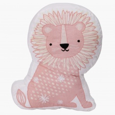 Animal Adventure Shaped Lion Cushion - 45 cms