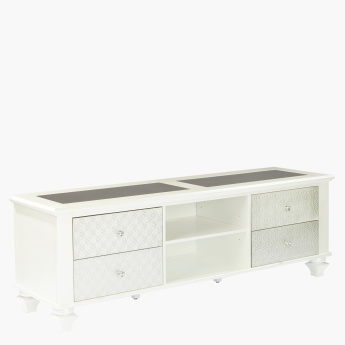 Taj 4-Drawer TV Unit