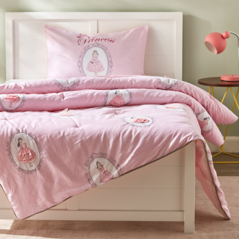 Princess 2-Piece Full Comforter Set - 160x240 cms