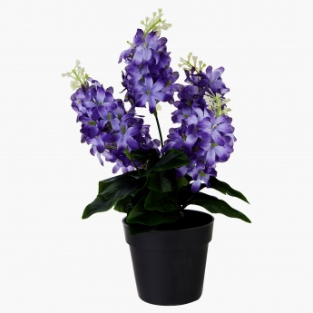 Decorative Hyacinth Flower with Vase