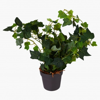 Decorative Ivy Hanging Plant with Vase