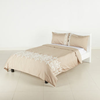 Valencia Embroidered 3-Piece Duvet Cover - 200x220 cms