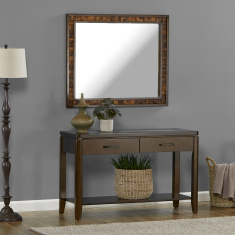 Gerard Console Table with Mirror