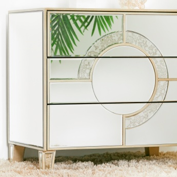 Mystique 3-Drawer Nightstand