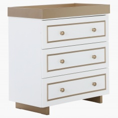 Little Twinkle's Nursery 3-Drawer Chest of Drawers