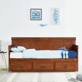 Casey Single Bed With Pull Out Underbed   90x190 Cms