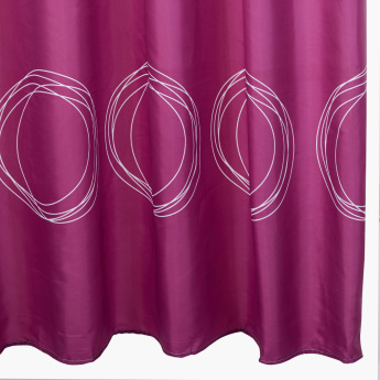 Dojo Printed Shower Curtain
