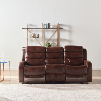 Chaplin Tufted 3-Seater Manual Recliner Sofa