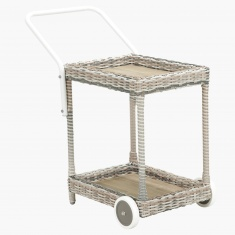 Tahiti 2-Tier Serving Trolley