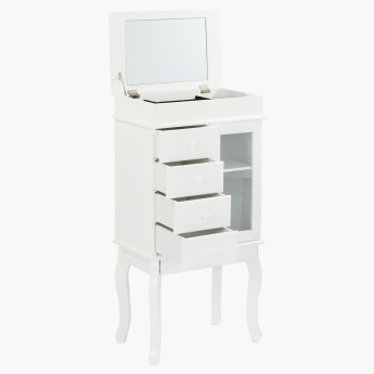 Stacy Jewellery Cabinet with Mirror