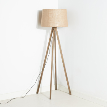 Capella Textured Electrical Floor Lamp