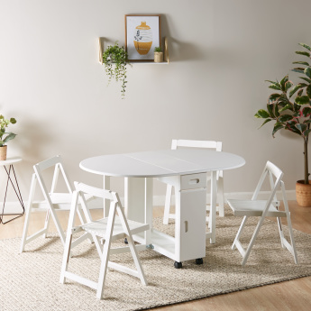 Butterfly Utility 4 Seater Dining Set
