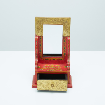Reunion Decorative Table Mirror with Drawer
