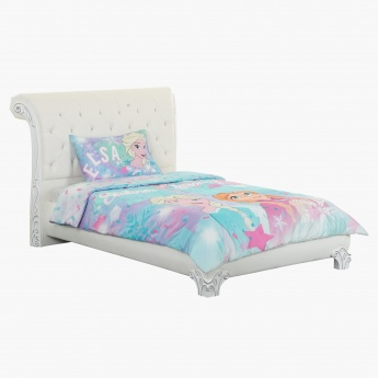 Frozen Printed 2-Piece Single Comforter Set -  135x220 cms