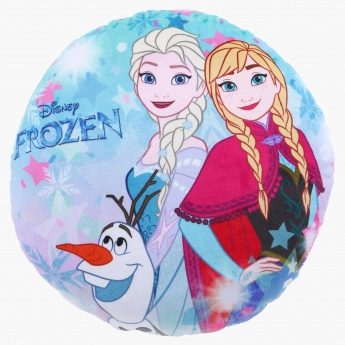 Frozen Printed Confetti Filled Round Cushion - 40 cms