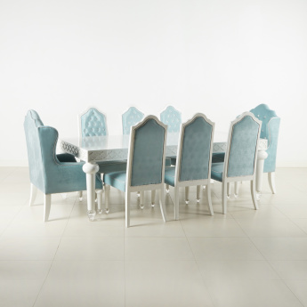 Arabesque Tufted 8-Seater Dining Set