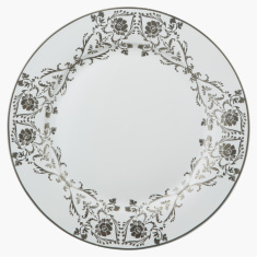 Sparkle Rose Printed Round Dinner Plate