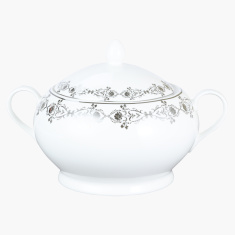 Sparkle Rose Soup Tureen