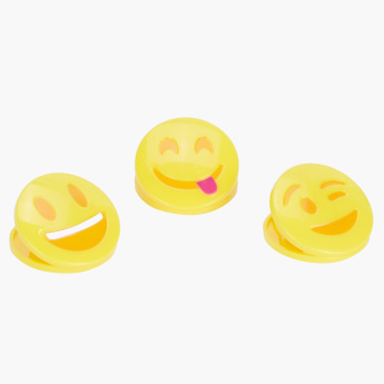 Emily's Emoji Shaped Paper Clip - Set of 3