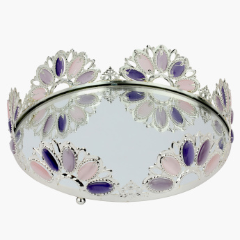 Sarcelles Decorative Round Tray