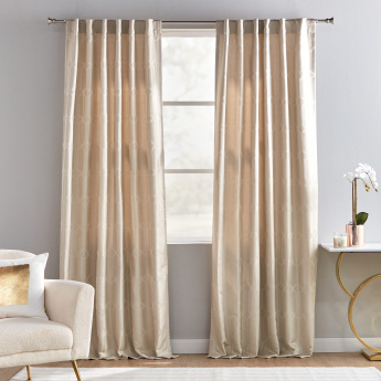 Warsaw Jacquard 2-Piece Curtain Pair - 135x240 cms