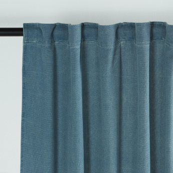 Classa Stone Wash Unlined Curtain Pair