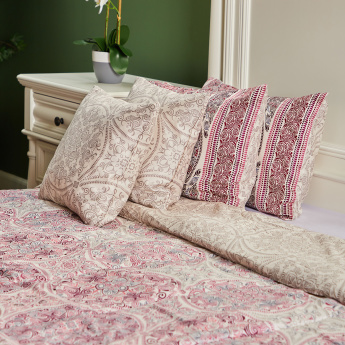 Suzzani Printed 5-Piece King Comforter Set - 260x250 cms