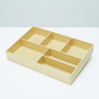 Eleganx 6-Compartment Tray