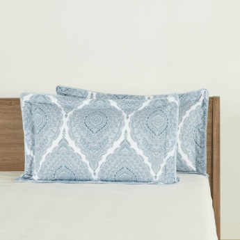 Tapys Printed Pillow Cover - Set of 2