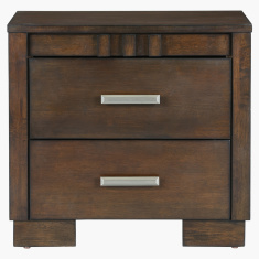 Trio 2-Drawer Nightstand