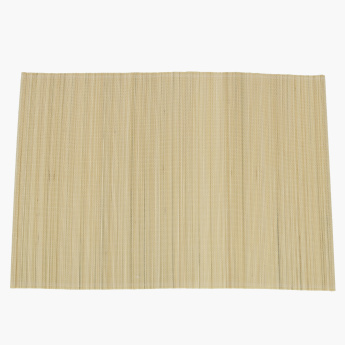 Bamboo Textured Placemat - Set of 6